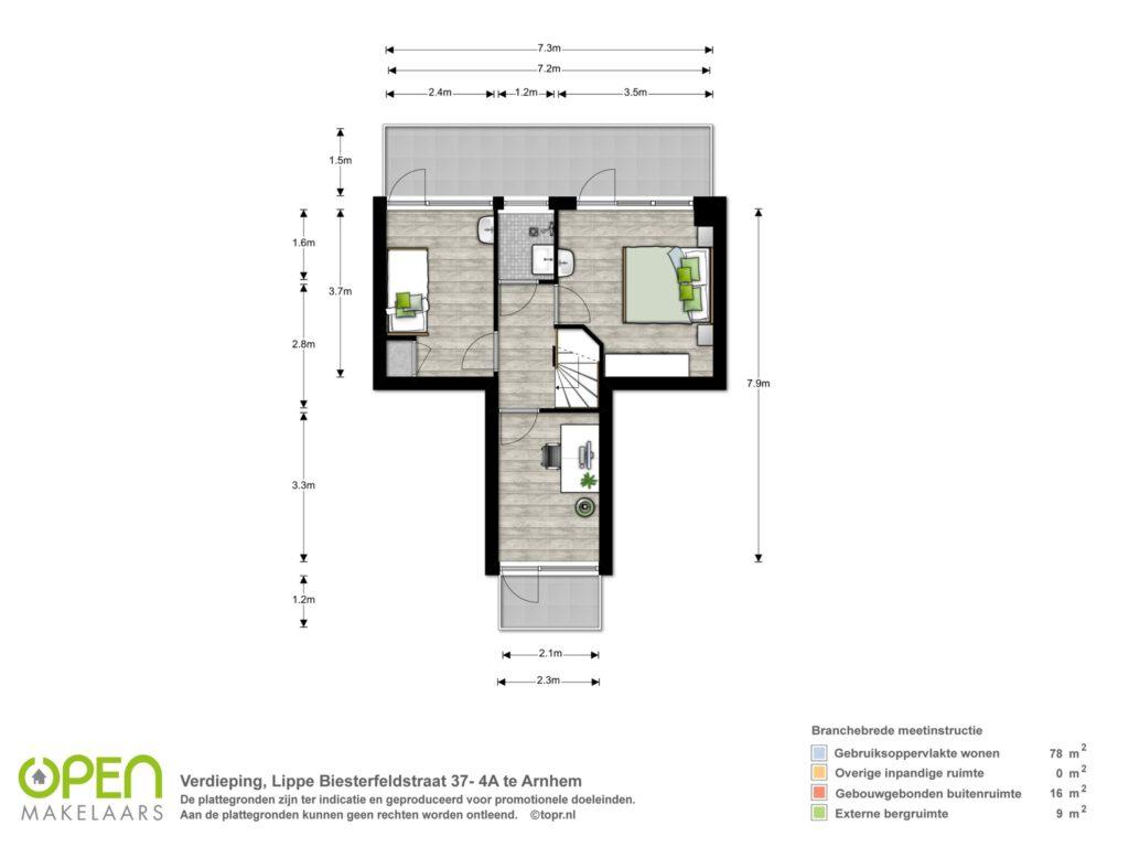 Vijfde verdieping