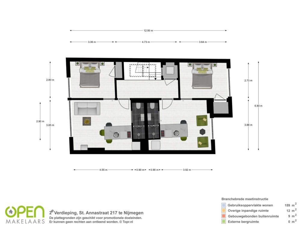 2e verdieping