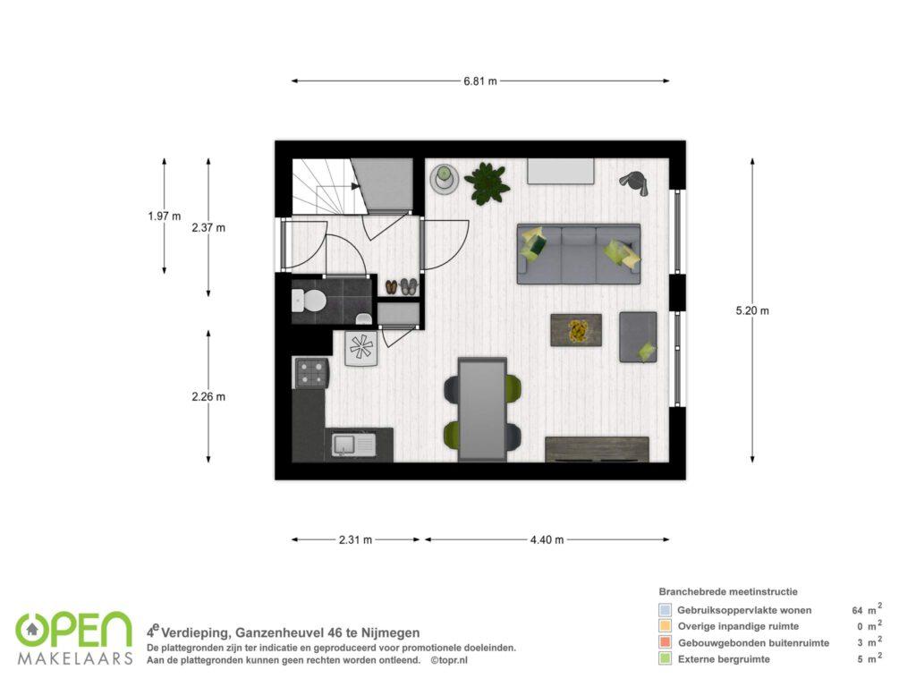 4e verdieping